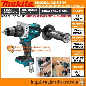 Makita DDF481Za