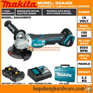 Makita DGA408RFEa