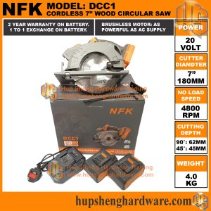 NFK Cordless Circular Saw DCC1-1