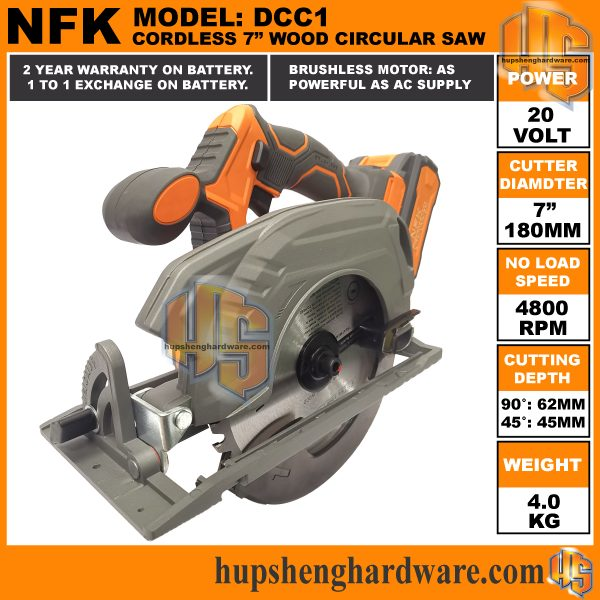 NFK Cordless Circular Saw DCC1-4