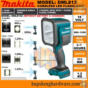 Makita DML812Z-1a