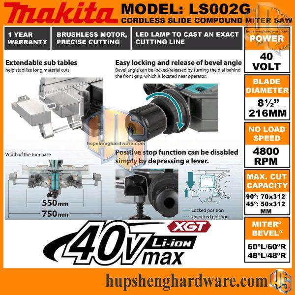 Makita LS002GZ-6aa
