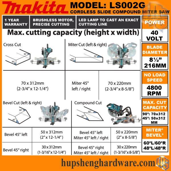 Makita LS002GZ-8aa