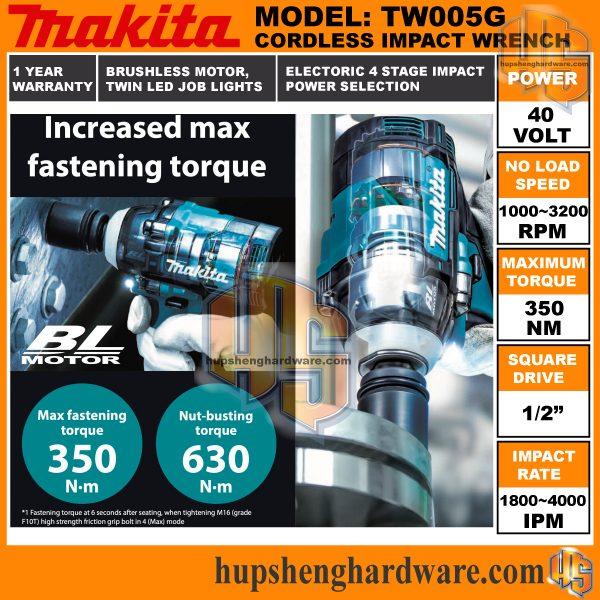 Makita TW005G-3aa