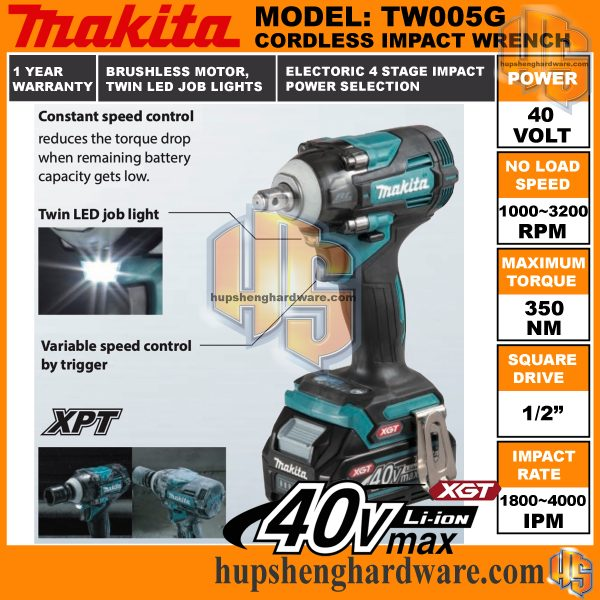 Makita TW005G-4aa
