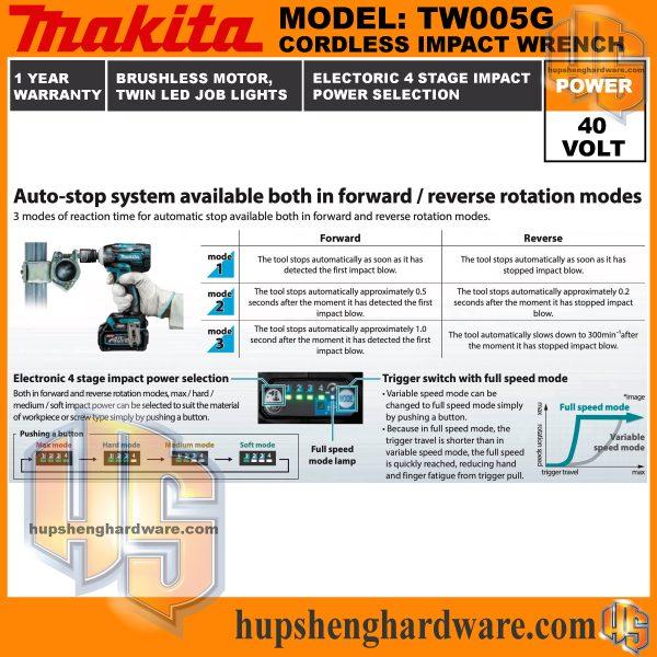 Makita TW005G-6aa