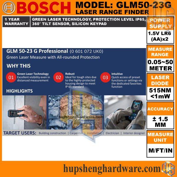 Bosch GLM50-23G-3aa