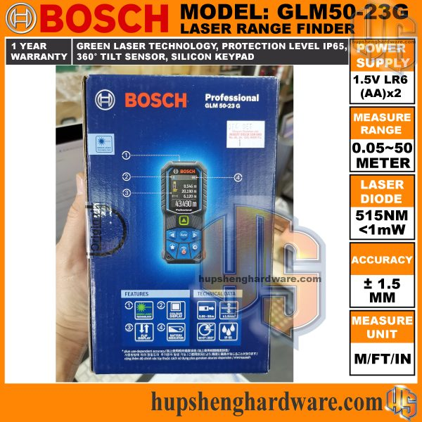 Bosch GLM50-23G-9aa